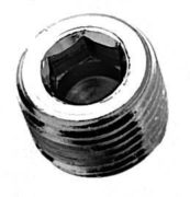 "1/8"" NPT  Head Countersunk Pipe Plugs"